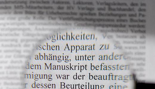 Redigieren . Klare & präzise Sprache in wissenschaftlichen Texten
