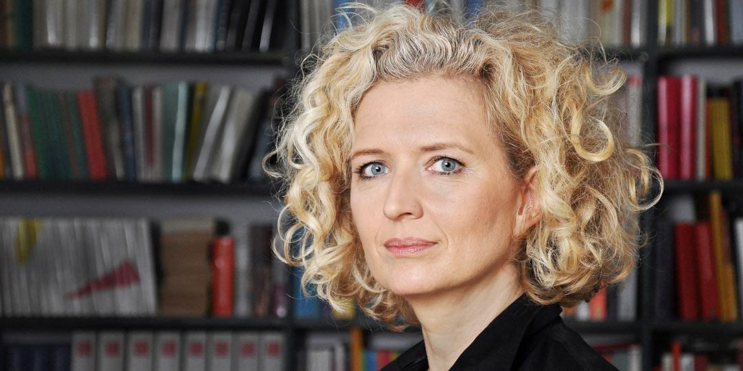 Portraetfoto der Politologin und Publizistin Dr. Angela Borgwardt