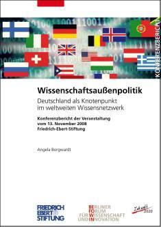 Cover der Publikation Wissenschaftsaussenpolitik, die von Dr. Angela Borgwardt geschrieben wurde und 2009 erschienen ist.