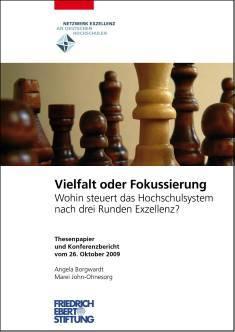 Cover der Publikation Vielfalt oder Fokussierung, die 2010 erschienen ist.