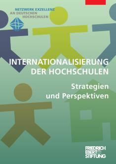 Cover der Publikation Internationalisierung der Hochschulen, die von Dr. Angela Borgwardt geschrieben wurde und 2012 erschienen ist.
