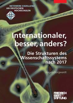 Cover der Publikation Internationaler, besser, anders?, die von Dr. Angela Borgwardt geschrieben wurde und 2012 erschienen ist.