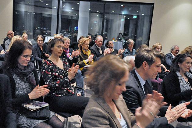 Die Ökonomie ist keine ethikfreie Zone, Moderation: Angela Borgwardt, Publikum