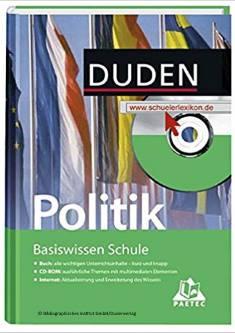 Cover der Publikation Duden Basiswissen Schule Politik