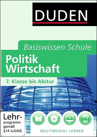 Cover der Publikation Basiswissen Schule - 7. Klasse bis Abitur - Politik und Wirtschaft