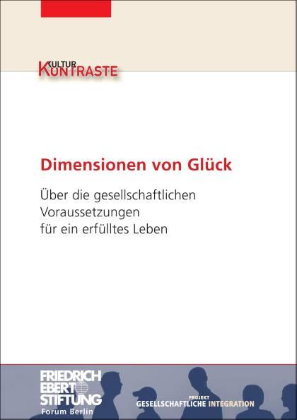 Cover der Publikation Dimensionen von Glück