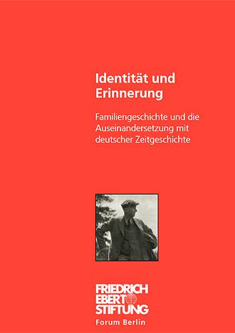 Coverder Publikation Identität und Erinnerung